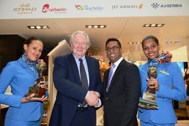 Air Seychelles wins WTA Awards 2014