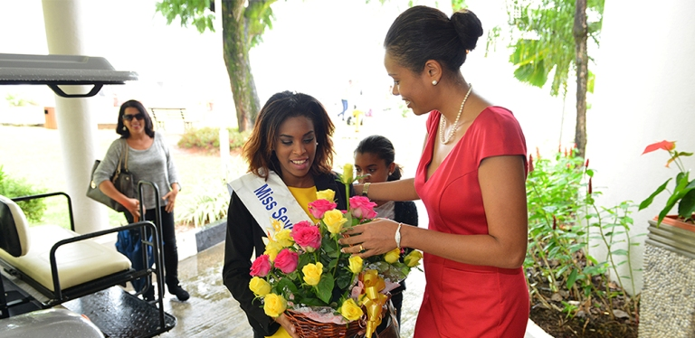 Return of Miss Seychelles