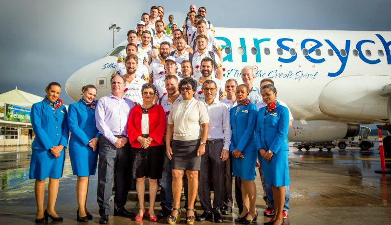 air seychelles supports mike ballard rugby foundation goodwill