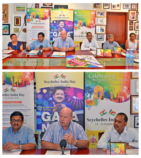 SEYCHELLES INDIA DAY PRESS CONFERENCE